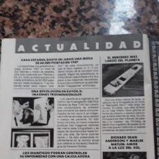 Coleccionismo de Revistas y Periódicos: RICHARD DEAN ANDERSON MACGYVER MCGYVER. Lote 111396163