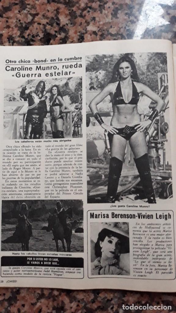 Caroline Munro James Bond Girl Marisa Berenson