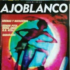 Coleccionismo de Revistas y Periódicos: REVISTA AJOBLANCO N° 98. Lote 111421414