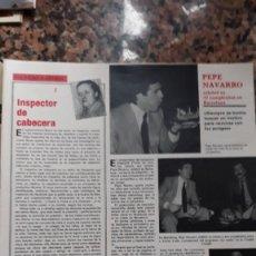 Coleccionismo de Revistas y Periódicos: PEPE NAVARRO . Lote 111460451