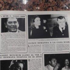 Coleccionismo de Revistas y Periódicos: MOHAMED ALI ROBERT MITCHUM EDWIGE FENECH. Lote 111460943