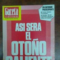 Coleccionismo de Revistas y Periódicos: GACETA ILUSTRADA N 1094 AÑO 1977. Lote 111462839