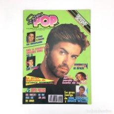 Coleccionismo de Revistas y Periódicos: SUPER POP REVISTA 267 DON JOHNSON TOM CRUISE ROB LOWE BRUCE WILLYS HOMBRES G GEORGE MICHAEL SUPERPOP. Lote 111463467