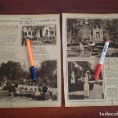 Coleccionismo de Revistas y Periódicos: GRANJA VIEJA DE HORTA -BARCELONA - AÑOS 20- REPORTAJE CON POESIAS 2 PAG. -RECORTE PRENSA-. Lote 111497395