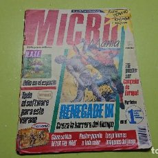 Coleccionismo de Revistas y Periódicos: REVISTA MICRO MANÍA SEGUNDA ÉPOCA NÚMERO 13. Lote 111504991