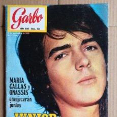 Coleccionismo de Revistas y Periódicos: REVISTA GARBO NOVIEMBRE 1970. Lote 111508259