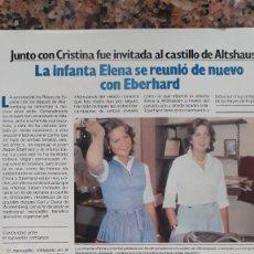 Coleccionismo de Revistas y Periódicos: INFANTA ELENA CRISTINA. Lote 111548647