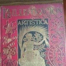 Coleccionismo de Revistas y Periódicos: LA ILUSTRACIÓN ARTÍSTICA TOMO XX AÑO 1901 COMPLETO CON TAPAS ORIGINALES. Lote 111577207