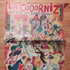 Coleccionismo de Revistas y Periódicos: LA CODORNIZ DECANA DE LA PRENSA HUMORISTICA EXTRA DEL ESPECTACULO MAYO 1970. Lote 111585535