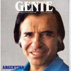 Coleccionismo de Revistas y Periódicos: 1990. LA ARGENTINA DE CARLOS MENEM. GIPSY KINGS.. Lote 111646943