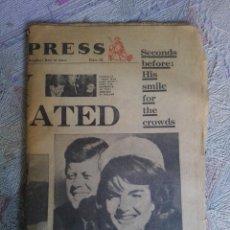 Coleccionismo de Revistas y Periódicos: PERIDICO MUERTE DE KENNEDY. Lote 111694611
