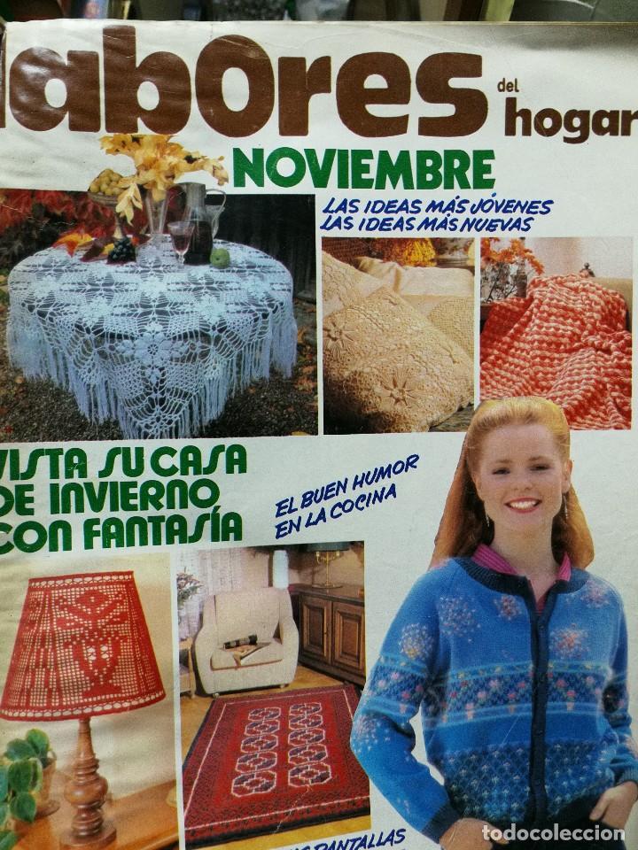 LABORES DEL HOGAR NOVIEMBRE (Coleccionismo - Revistas y Periódicos Modernos (a partir de 1.940) - Otros)