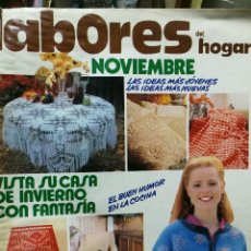 Coleccionismo de Revistas y Periódicos: LABORES DEL HOGAR NOVIEMBRE. Lote 111715643