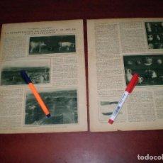 Coleccionismo de Revistas y Periódicos: LA RESURRECCION DE NUMANCIA- EL SOLAR -LAS EXCAVACIONES- AÑOS 20-RECORTE PRENSA-. Lote 111731359