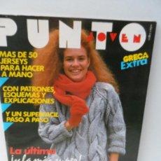 Coleccionismo de Revistas y Periódicos: GRECA EXTRA REVISTA Nº2 PUNTO JOVEN 50 JERSEYS PARA HACER A MANO . Lote 111733011