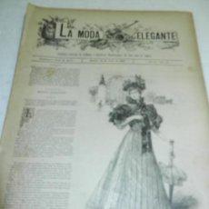 Coleccionismo de Revistas y Periódicos: REVISTA LA MODA ELEGANTE AÑO LIV MADRID 30 DE JUNIO DE 1895 N. 24.. Lote 111760131