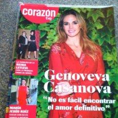 Coleccionismo de Revistas y Periódicos: REVISTA CORAZON TVE -- Nº 131 -- GENOVEVA CASANOVA --. Lote 111806095