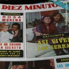 Coleccionismo de Revistas y Periódicos: MAYRA GOMEZ KEMP SUSANA ESTRADA SERRAT BLANCA ESTRADA UN DOS TRES ROSA MORENA ROCIO JURADO 1978. Lote 111813443