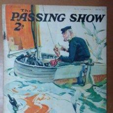 Coleccionismo de Revistas y Periódicos: REVISTA THE PASSING SHOW Nº 10 MAYO 1928 TEXTO EN INGLES PUBLICIDAD DE EPOCA. Lote 111849819