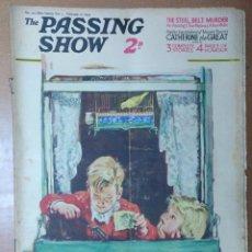 Coleccionismo de Revistas y Periódicos: REVISTA THE PASSING SHOW Nº 100 FEBRERO 1934 CON 4 PAGINAS EXTRAS DE HUMOR TEXTO INGLES PUBLICIDAD. Lote 111849911
