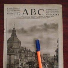 Coleccionismo de Revistas y Periódicos: CALLE ALCALA VISTA DESDE LA DE SEVILLA -MADRID - AÑOS 20- RECORTE PRENSA-. Lote 111871551