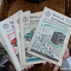 Coleccionismo de Revistas y Periódicos: TUBAL SEVILLA AUTOMOVILISTA 10 REVISTAS 1961 24 CM 700 GRS Nª 308 289 290 291 292 293 307 311 312 3 . Lote 111876883