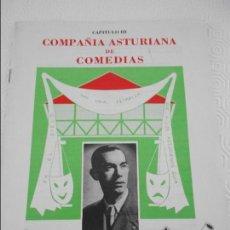 Coleccionismo de Revistas y Periódicos: JOSE MANUEL RODRIGUEZ. COMPAÑIA ASTURIANA DE COMEDIAS. CAPITULO III. GIJON, AÑO 1986. AUTOR: HECTOR. Lote 111893759