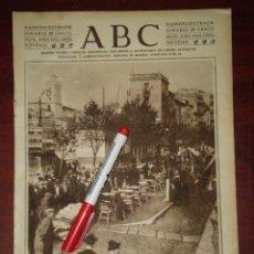 Coleccionismo de Revistas y Periódicos: RAMBLA DE LA LIBERTAD - GERONA -GIRONA - AÑO 1923- RECORTE PRENSA-. Lote 111911119