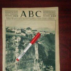 Coleccionismo de Revistas y Periódicos: CURIOSO ASPECTO CIUDAD DE RONDA - AÑO 1925- RECORTE PRENSA- FOTOGRAFIA. Lote 111914383