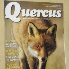 Coleccionismo de Revistas y Periódicos: REVISTA QUERCUS 318 AGOSTO 2012. ANFIBIOS, MARIPOSA TOPACIO, ORNITOLOGOS. Lote 111918319