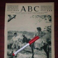Coleccionismo de Revistas y Periódicos: CAMINO DEL CASERIO EN PLENA SIERRA -ESCENAS CAMPESINAS - AÑO 1922- RECORTE PRENSA- FOTOGRAFIA. Lote 111919071