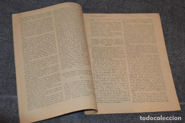 Coleccionismo de Revistas y Periódicos: LOTE DE 2 REVISTAS TELÉGRAFOS Y TALONARIO TELEGRAMAS PARA AMÉRICA - AÑOS 30 - VINTAGE - HAZ OFERTA - Foto 10 - 111921823