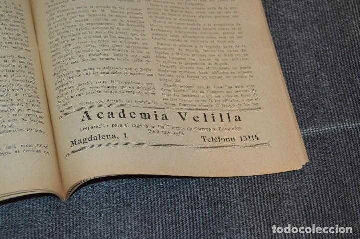 Coleccionismo de Revistas y Periódicos: LOTE DE 2 REVISTAS TELÉGRAFOS Y TALONARIO TELEGRAMAS PARA AMÉRICA - AÑOS 30 - VINTAGE - HAZ OFERTA - Foto 11 - 111921823