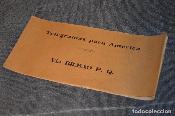 Coleccionismo de Revistas y Periódicos: LOTE DE 2 REVISTAS TELÉGRAFOS Y TALONARIO TELEGRAMAS PARA AMÉRICA - AÑOS 30 - VINTAGE - HAZ OFERTA - Foto 13 - 111921823