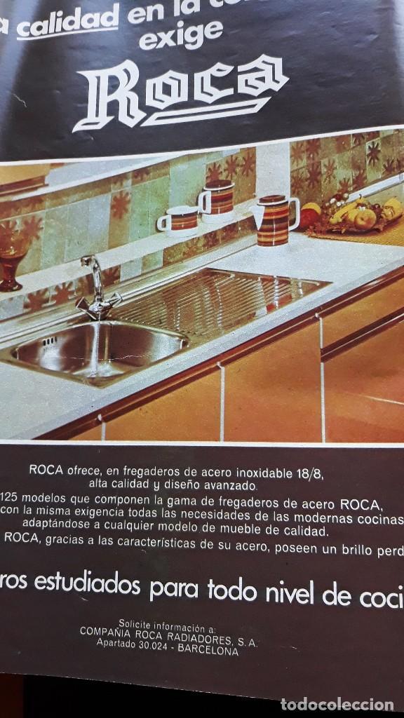 ANUNCIO COCINAS ROCA (Coleccionismo   Revistas Y Periódicos Modernos (a  Partir De 1.940)