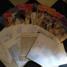 Coleccionismo de Revistas y Periódicos: GRAN LOTE REVISTAS Y PATRONES LABORES Y PUNTO DE CRUZ - TU MISMA . COLCHAS COJINES BLUSAS MANTELES ,. Lote 111947811