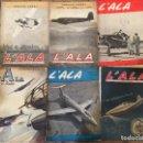 Coleccionismo de Revistas y Periódicos: REVISTA L´ALA D'ITALIA. PUBLICACION DE LA AVIACION FASCISTA. AVION. Lote 111983255