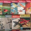 Coleccionismo de Revistas y Periódicos: AERO MODELISMO, DE LOS AÑOS 1949. 50,51. CONSTRUCCION DE MODELOS, CON PLANOS ETC. Lote 111985607