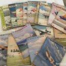 Coleccionismo de Revistas y Periódicos: AEROMODELLER, AVIACION AEROMODELISMO VUELO SIN MOTOR JUGUETES AVIONES AERO MODELLER. Lote 111992747