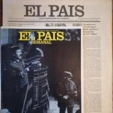 Coleccionismo de Revistas y Periódicos: PERIÓDICO Y SUPLEMENTO - EL PAIS SEMANAL -LAS 18 HORAS -GOLPE DE ESTADO -DOMINGO 8 DE MARZO DE 1981 . Lote 112031663