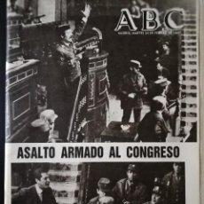 Coleccionismo de Revistas y Periódicos: PERIÓDICO ABC MARTES 24 DE FEBRERO DE 1981 - ASALTO ARMADO AL CONGRESO. Lote 112034191