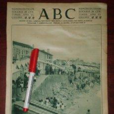 Coleccionismo de Revistas y Periódicos: PLAYA DE RIAZOR EN LA CORUÑA - AÑO 1924 RECORTE PRENSA- Y PUBLICIDAD YER EN REVERSO. Lote 112052079