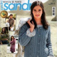 Coleccionismo de Revistas y Periódicos: SANDRA REVISTA DE PUNTO N. 5 (NUEVA). Lote 179021440