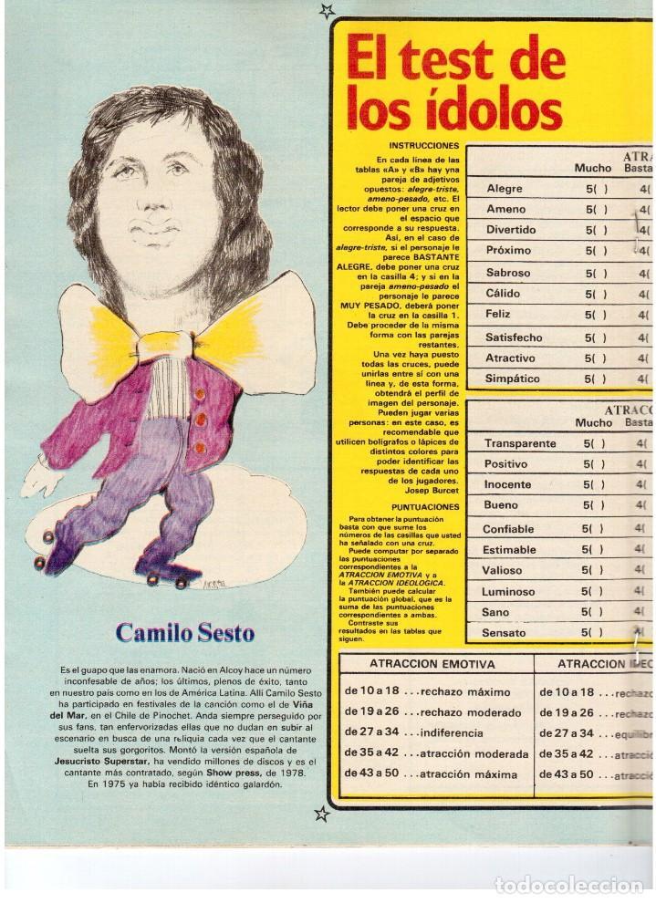 Coleccionismo de Revistas y Periódicos: EP.1979. bárbara rey.SERRAT.CAMILO SEXTO.CLAUDIA CARDINALE.JERUSALEN.VAZQUEZ MONTALBAN.OCTAVIO PAZ. - Foto 3 - 112071067