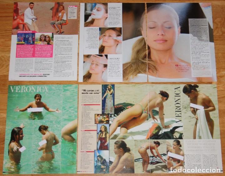 Veronica Ot Coleccion Prensa Operacion Triunfo Fotos Desnuda Interviu Clippings Revista