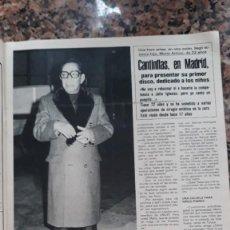 Coleccionismo de Revistas y Periódicos: MARIO MORENO CANTINFLAS EN MADRID. Lote 278636173