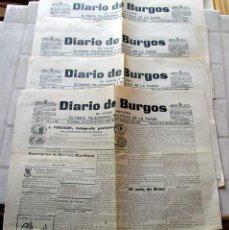 Coleccionismo de Revistas y Periódicos: DIARIO DE BURGOS- 4 DE 1895. Lote 112109023
