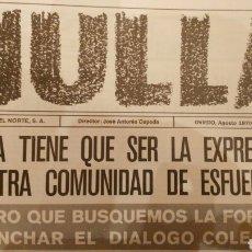 Coleccionismo de Revistas y Periódicos: HULLA N°12 (1970). Lote 112121146