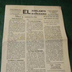 Coleccionismo de Revistas y Periódicos: LA BAÑEZA: EL ADELANTO BAÑEZANO NUM.1638 - 5 FEBRERO 1966. Lote 112139559