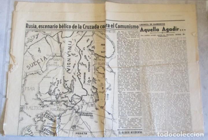 AMANECER - ZARAGOZA - 3 / 7 / 1941 - CRONICA DE LA BATALLA DE STALINGRADO (Coleccionismo - Revistas y Periódicos Modernos (a partir de 1.940) - Otros)